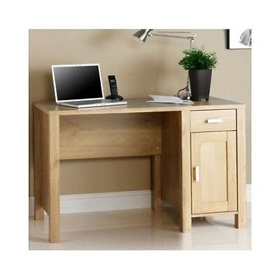 Wooden Computer Desk Home Office Table Workstation Wood PC Furniture Oak Laptop