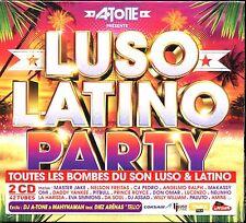 LUSO LATINO PARTY - RADIO LATINA - 2 CD COMPILATION NEUF ET SOUS CELLO