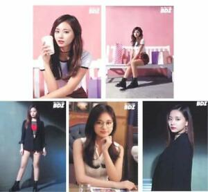 TWICE-JPN-1st-ALBUM-BDZ-Release-event-Limited-Official-Photocard-TZUYU-All-5-set