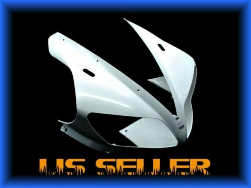 US STOCK UNPAINTED UPPER FARING NOSE For YAMAHA 2002 2003 YZF R1 YZFR1 R1000
