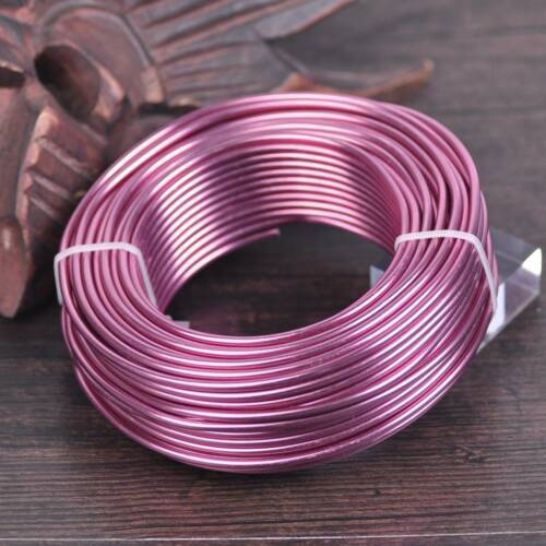 Aluminium Jewelry Craft Wire 1mm 1.5mm 2mm 2.5mm 3mm Large Roll 25m~200m