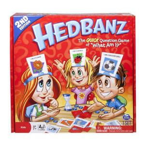 Juego de mesa Hedbanz Juguete Adivina que tengo en el coco Peguntas y Respuetas