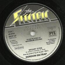 GORDON GILTRAP - WEARY EYES / NIGHTRIDER - ORIGINAL 70s POP, ACOUSTIC PROG ROCK