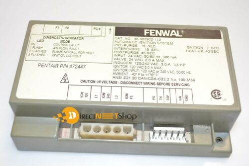 Fenwal 35-662902-113 Automatic Ignition Control System Pentair472447
