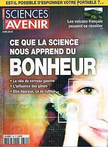 Amical Sciences Et Avenir N°760 Bonheur Volcans Francais
