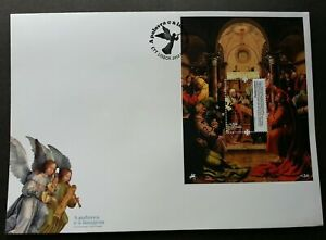 SJ-Portugal-The-Word-amp-The-Image-2012-Angel-Christian-Religion-Painting-FDC