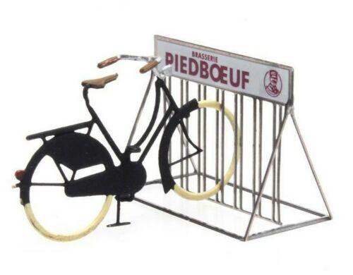 lackiert Fertigmodell Fahrradständer Piedboeuf Artitec 387.370-1:87