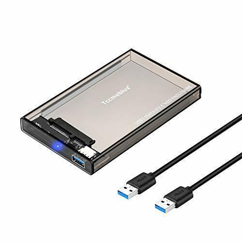 Tccmebius Externo Caja de disco duro Adaptador USB 3.0 a SATA para 2.5 pulgadas