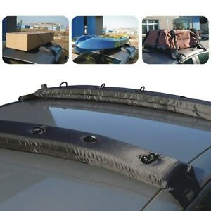 Image Is Loading Car Suv Crossbar Quick Strap Roof Rack Pads