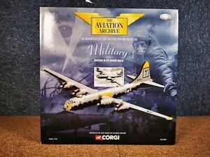 Corgi 1:144 Aviation Archive Aa31802 Boeing B29 Hawg Wild (duxford)-afficher Le Titre D'origine Limpide à Vue