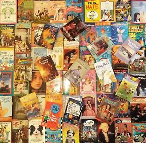 Lot-of-50-Random-Childrens-Young-Adult-Chapter-Books-Scholastic-Early-Readers