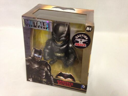 "DC Comics,Metals Diecast Batman vs Superman 4/"" Figure,Armored Batman Jada Toy M4"