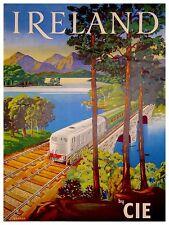 "Art Ireland Travel Poster Rare Hot New Original 12x16"" TR154"