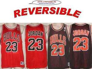 Chicago Nba Reversible De 14 S Bulls 23 Ebay Basket Maillot Ans Jordan twZAw