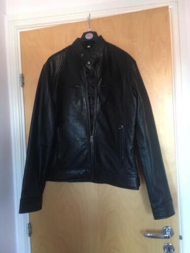 maat small Leren zwart nieuw jas fabriek qRwtWw8T