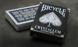 Acheter Pas Cher Carte Da Gioco Bicycle Cristallum,poker Size BéNéFique à La Moelle Essentielle