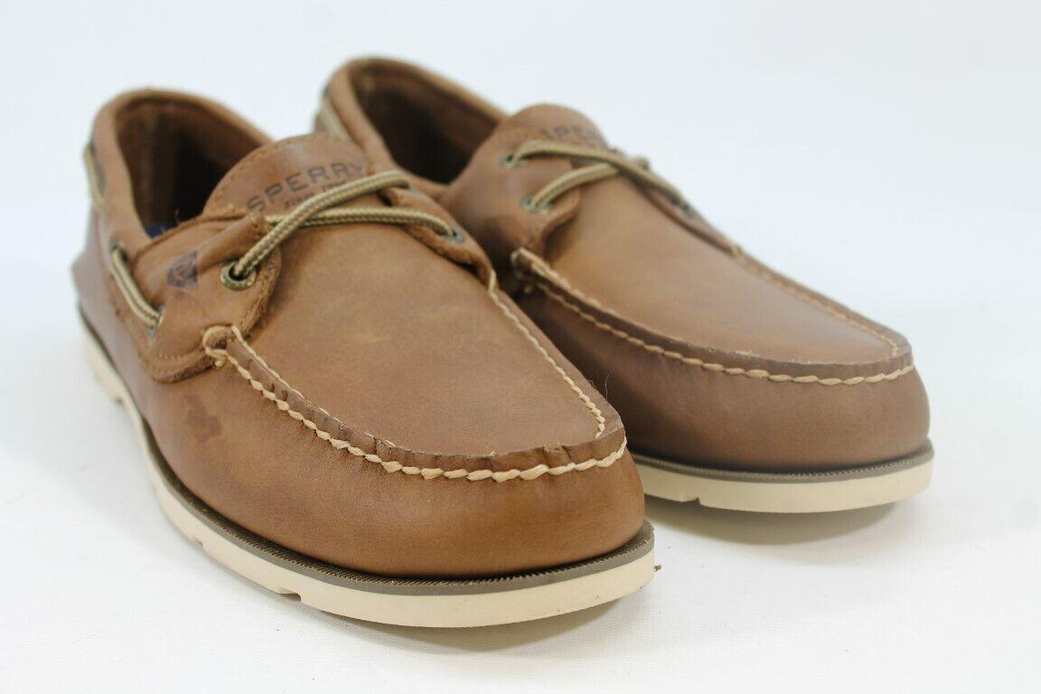 Sperry Leeward Men's Tan Loafers 10M(ZAP10634)