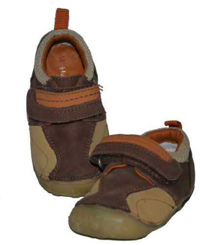 Hush Puppies Boys Taupe First Shoes Various Sizes Robot