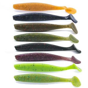 10cm-Soft-Silicone-Bait-Lures-Set-6-9g-Easy-Shiner-Shad-Fishing-Lure-Fish-Tackle