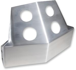 SPEED MERCHANT Skid Plates Brushed Aluminum SM-SSP-1