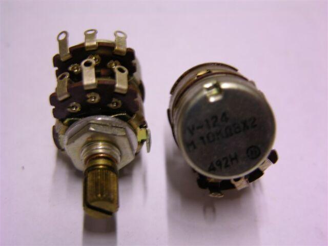 Dual Audio Pot 10K New Old Stock