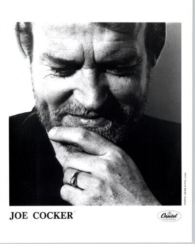 RARE 1990 Press Photo Joe Cocker Rock Legend by Herb Ritts Reprint