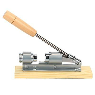 Metal Walnut or Pecan Heavy Duty Nut Cracker Gadget Tool QHA-300 Desktop Wood