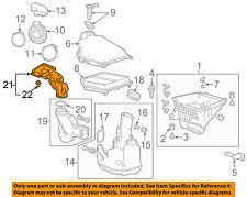 HONDA OEM 13-17 Accord-Air Inlet Baffle 172455G0A00