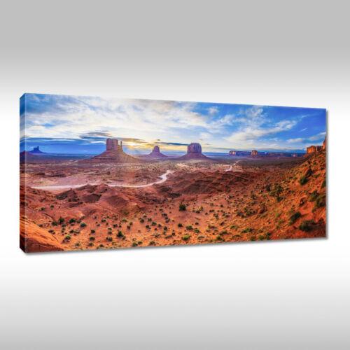 Leinwandbild Canvas Print Wandbild Monument Valley Amerika Nr 2122