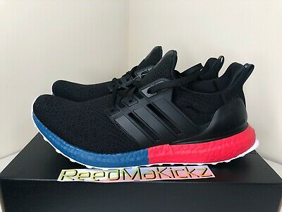 Adidas Ultra boost DNA Black Red Blue