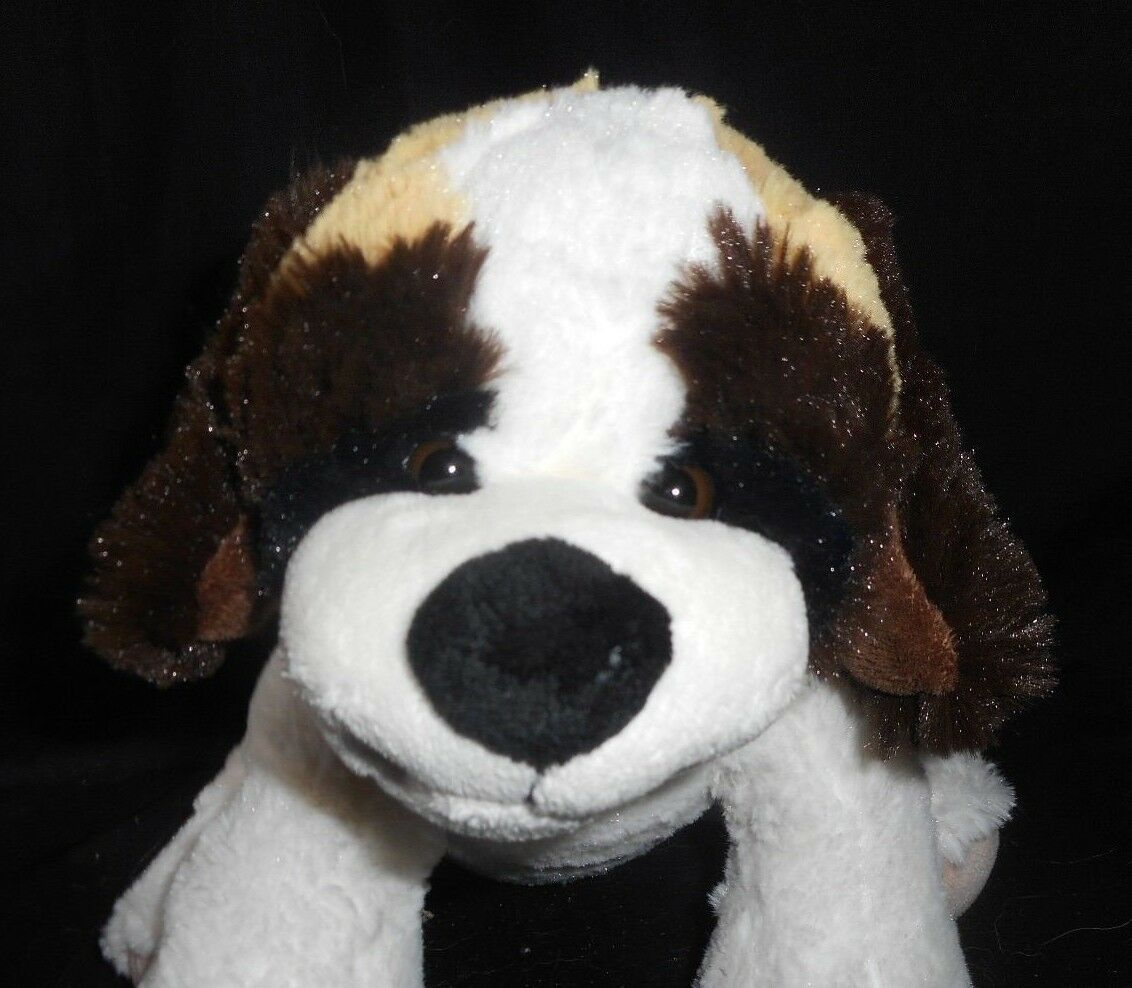 ALTHANS BROWN WHITE ST BERNARD PUPPY DOG WEST GERMANY STUFFED STUFFED STUFFED ANIMAL PLUSH TOY 8e1664