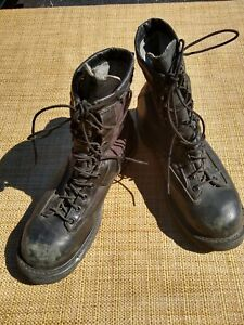 Belleville GICB Mens 10.5W Goretex Black Leather Combat Military Boots