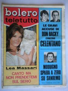 Bolero-1078-Massari-Don-Backy-Celentano-Modugno-Shaw-Vitti-Mina-Adamo-Fortunato