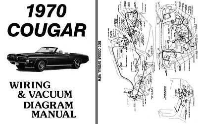 Cougar 1970 - Wiring & Vacuum Diagram Manual | eBay