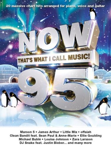 Now Thats What I Call Music 95 Play Little Mix Justin Bieber PIANO Music Book