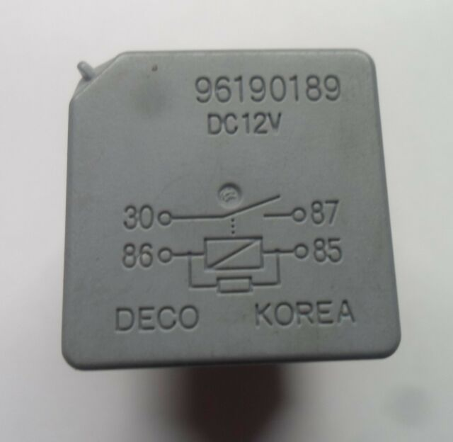 GM RELAY 96190189    6 MONTH WARRANTY TESTED OEM FREE SHIPPING GM1