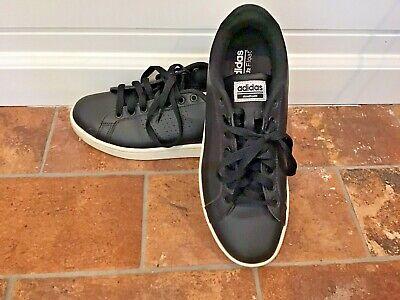 ayudar Desde autobús  Adidas Ortholite Float Black Leather Women's 8.5 Cloudfoam Athletic Shoes    eBay