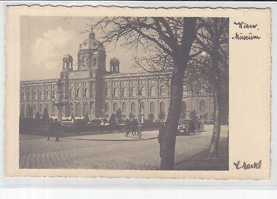 Foto-ak Um 1930 Reinweiß Und LichtdurchläSsig Auto Museum Aktiv Ak Wien I