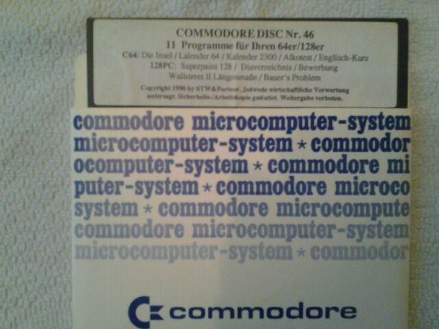 Commodore 64 Software collection on eBay!