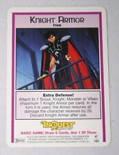 Sailor Moon Knight Armor Collectible Card Game Rare Inquest Magazine TCG CCG