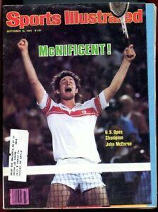 SI: Sports Illustrated September 15, 1980 U.S. Open Champion John McEnroe G