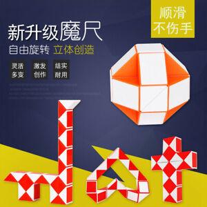 Magic-Block-Game-Rubik-039-s-Race-Puzzle-Cube-3D-Jouet-Enfants-Enseignement-IQ-mate