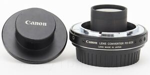 Canon-FD-EOS-1-26x-Lens-Mount-Converter-FDEOS-Genuine-Original-SOLD-AS-IS