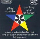 """Schnittke: Symphony No.2, """"St. Florian"""" (CD, May-1995, BIS (Sweden))"""