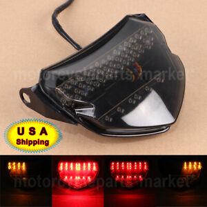 Motor Rear LED Tail Light Turn Signal Fit For Suzuki GSXR750 GSXR600 2004-2005