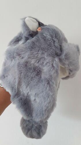 BAKER BY TED BAKER GIRLS LIGHT BLUE FAUX FUR TRAPPER HAT AGE 1-2 YRS BNWT