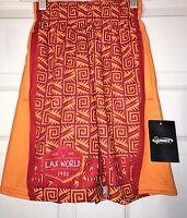Lax World Lacrosse Youth Boys Girls Shorts Aztec Nation Small Medium & Large