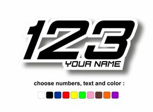 Numeri-sticker-adesivi-adesivo-personalizzati-racing-moto-auto-kart-nome