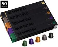 Nespresso 3610-DI/2 Original Line 50 Pieces Variety Coffee Capsules