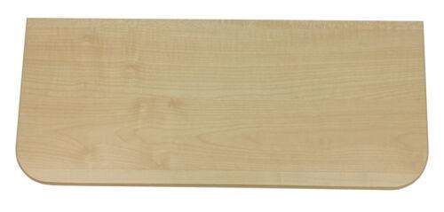 Regalboden Brett Ahorn 8 Varianten für Wandregal Einlegeboden //OHNE Halterung